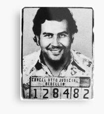 Escobar Mugshot Metal Print