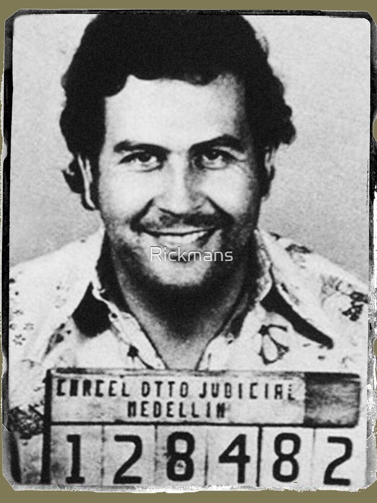 Escobar Mugshot von Rickmans