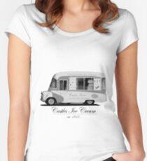 Castles Ice Cream est. 1843 Women's Fitted Scoop T-Shirt