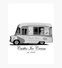 Castles Ice Cream est. 1843 Photographic Print