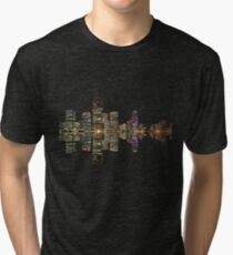 Brisbane Skyline Tri-blend T-Shirt
