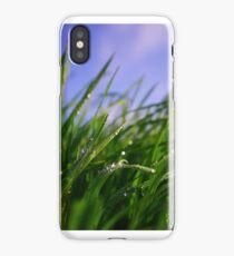 Grastropfen iPhone Case/Skin
