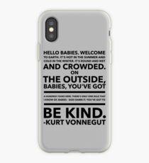 Vonnegut Quote iPhone Case