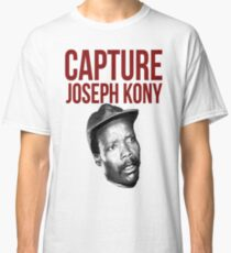 "Kony T-Shirt - ""Capture Kony"" Classic T-Shirt"