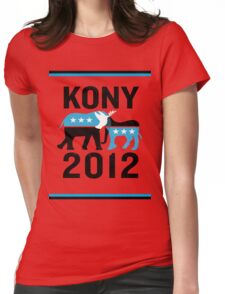 """Joseph Kony T-shirt"" Original Style T-Shirt Kony 2012 Womens Fitted T-Shirt"