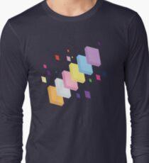 My Little Pony - Mane Six Abstraction II Long Sleeve T-Shirt