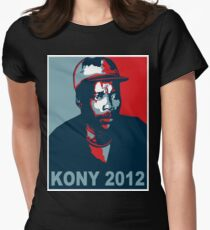 KONY 2012 Womens Fitted T-Shirt