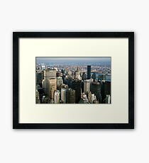 Midtown Manhattan Framed Print