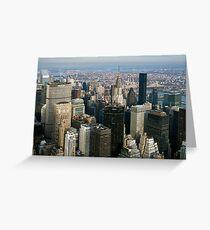 Midtown Manhattan Greeting Card