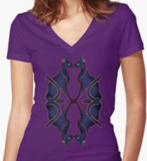 CATS EGYPTIAN 3 Women's Fitted V-Neck T-Shirt