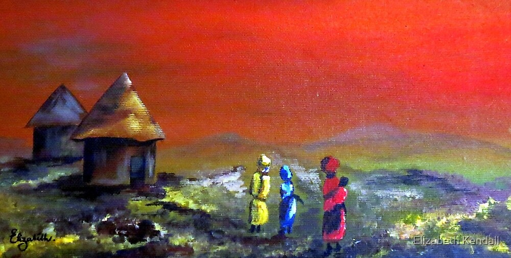 Africa (Transkei) by Elizabeth Kendall