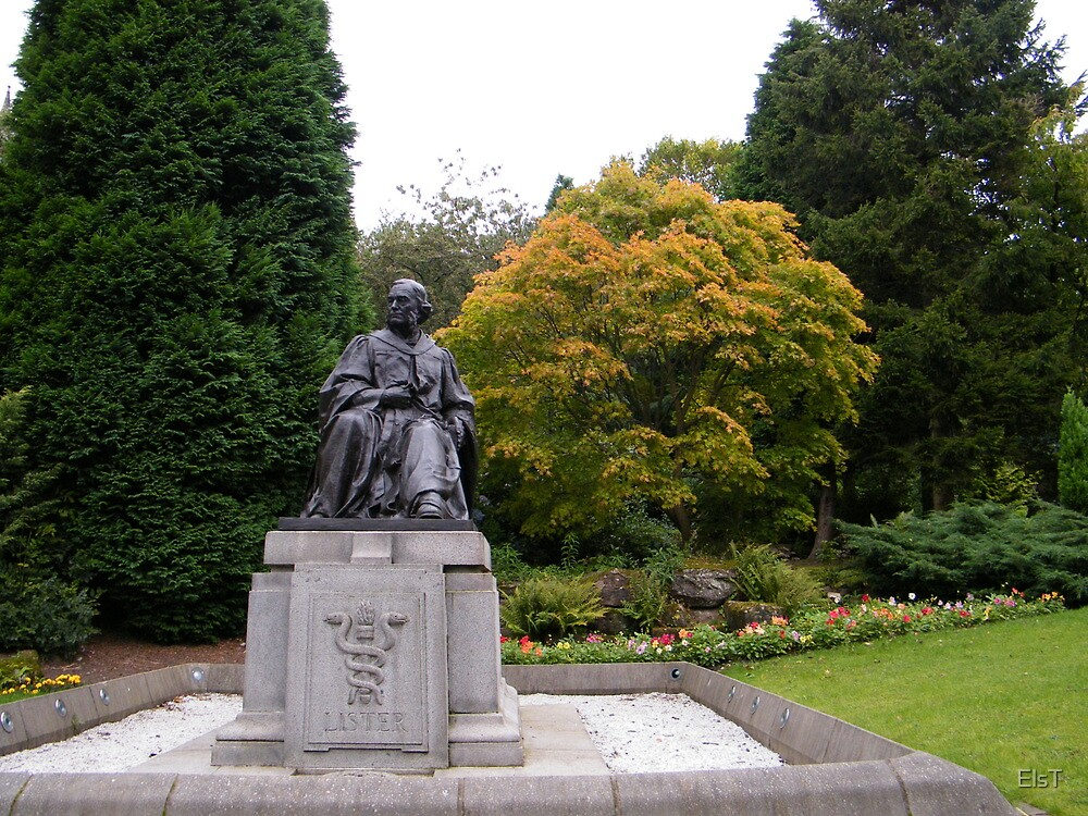 Joseph Lister looking over to Glasgow University by ElsT