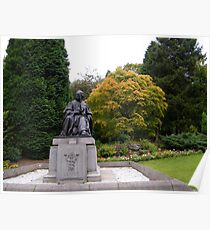 Joseph Lister looking over to Glasgow University Poster