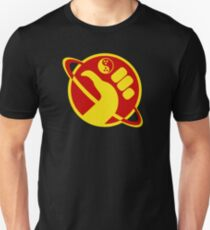 Dudeist Galactic Hitchhiker  Unisex T-Shirt