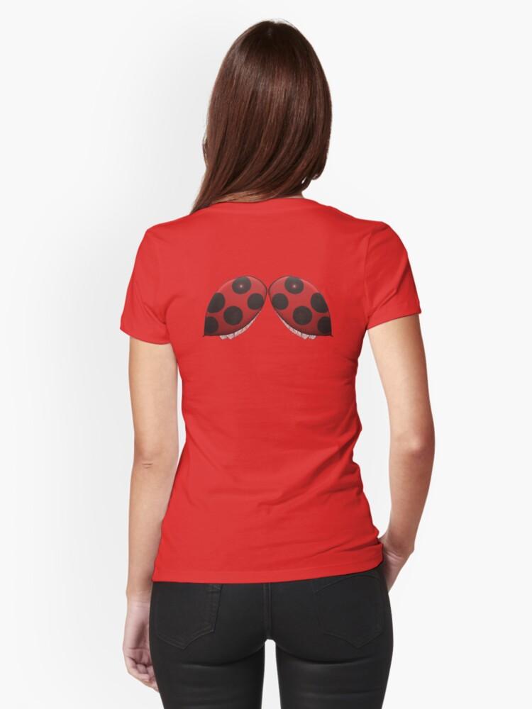 Ladybug Wing Backed Shirt by Amy-Elyse Neer
