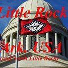 LITTLE ROCK ARKANSAS USA (& N. Little Rock) CALENDAR by WildestArt