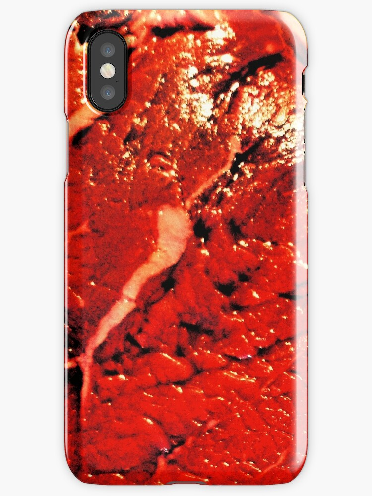 Meat iPhone by Margaret Bryant
