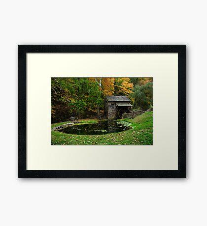 Autumn At Cuttalossa Farm I Framed Print