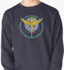 Celestial Being - Distressed Pullover Sweatshirt