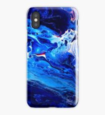 """MEDITATION BLUE"" iPhone Case/Skin"