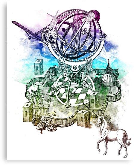 strange unicorn garden by frederic levy-hadida