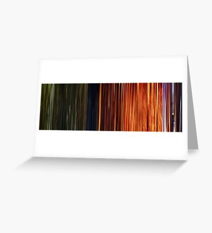 Moviebarcode: Sequence from Toy Story 3 (2010) Greeting Card
