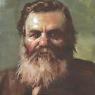 DD Palmer co-founder of chiropractic medicine   by Josef Rubinstein