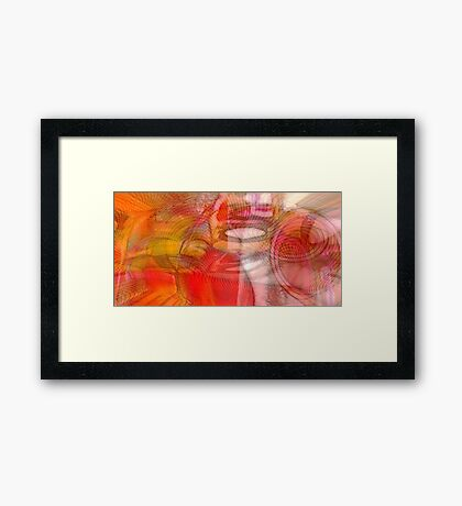 Waves of Desire Framed Print
