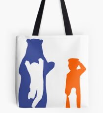 The otters and the bears Tote Bag