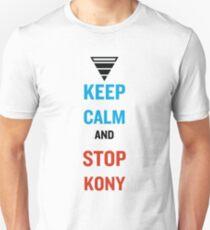 Keep Calm And Stop Kony T-Shirt