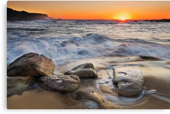 Golden Sand by Mark  Lucey