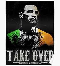 """Conor McGregor """"Take Over"""" Poster"""