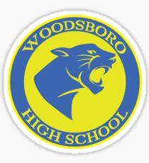 Woodsboro High School Sticker