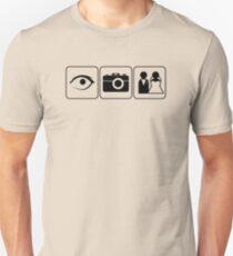 I Photograph Weddings Unisex T-Shirt