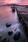 Tarawera in the Pink by Michael Treloar