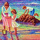 Sandy Beach Reflections by jyruff