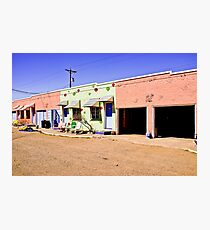 Blue Swallow Motel Photographic Print