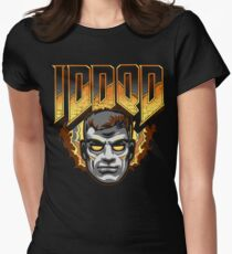 IDDQD - GOD MODE Womens Fitted T-Shirt