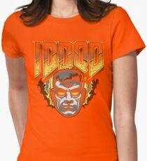 IDDQD - GOD MODE Womens Fitted T-Shirt