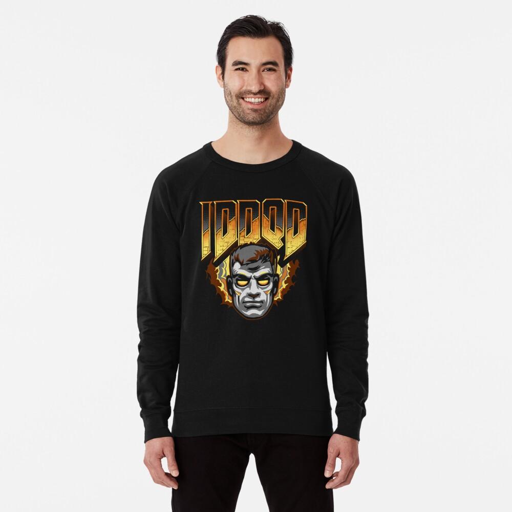 IDDQD - GOD MODE Lightweight Sweatshirt