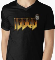 IDDQD GOD MODE 2 Men's V-Neck T-Shirt