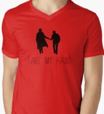 Sherlock - Take My Hand Mens V-Neck T-Shirt