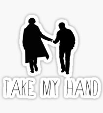 Sherlock - Take My Hand Sticker