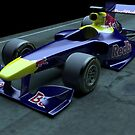 F1 grand prix car 3D by gordon anderson
