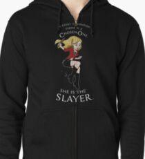 Slayer Zipped Hoodie