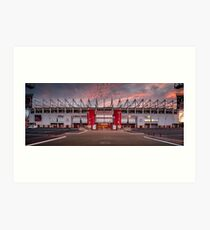 The Riverside Stadium, Middlesbrough Art Print