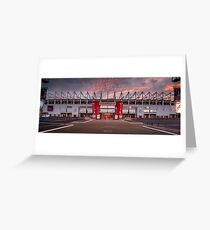 The Riverside Stadium, Middlesbrough Greeting Card