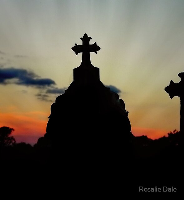 Junee Sunset ~ March 2012 by Rosalie Dale