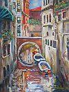 Venice - Canal II by Stefano Popovski