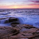 Seascape Sunset by Eric Full